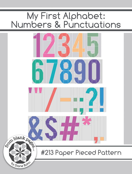 My First Alphabet: Numbers & Punctuation