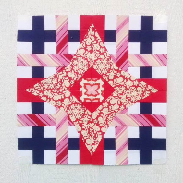 Zodiac BOM Block of the Month Pattern #236 - Complete Paper Piecing Quilt Pattern PDF