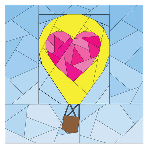 Rise Above Add-on: Geometric Heart #261 PDF