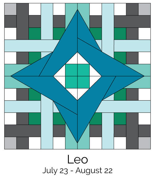 Leo #243 from the Zodiac BOM
