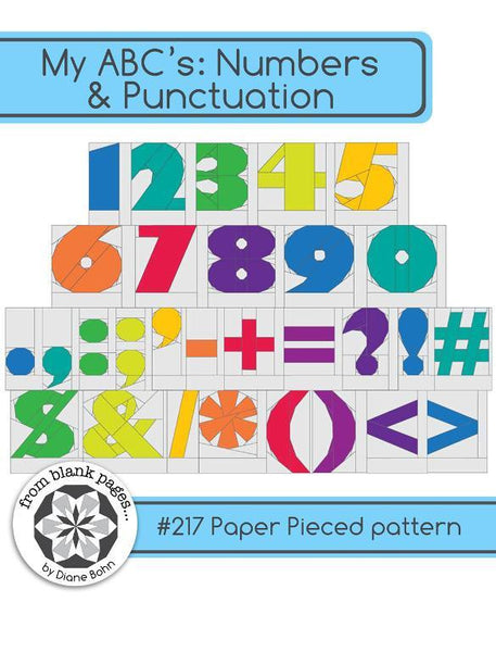 My ABC's Numbers & Punctuations