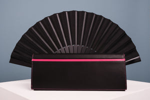 Clutch Abanico Pavo Real