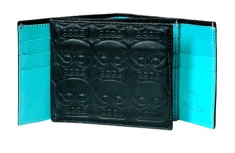 Cartera/ Billetera Tzompantli