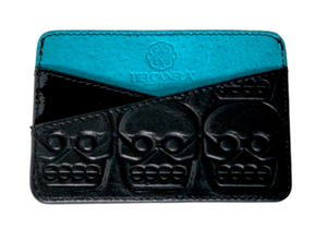 Tzompantli card holder