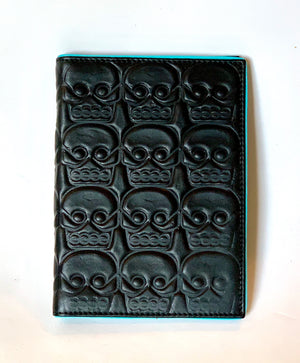 Tzompantli Passport Holder Wallet