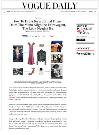 How to Dress for a Formal Dinner