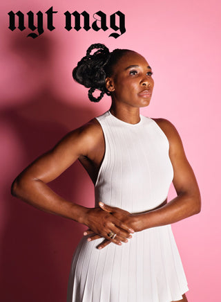 "Venus Williams in Spinelli Kilcollin for ""Did Venus William Ever Get her Due?"" in NyTimes.com"
