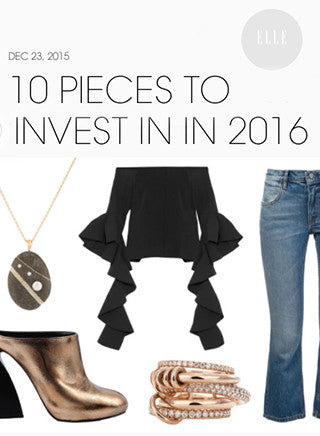 10 Pieces to Invest in in 2016