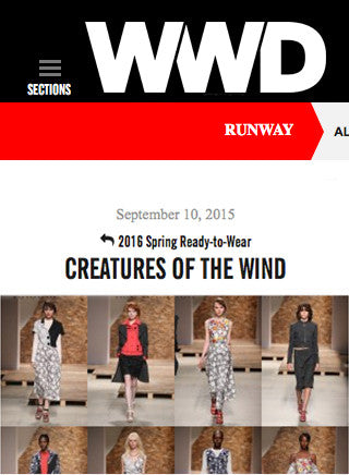 Spinelli Kilcollin for Creatures of the Wind RTW Spring 2016