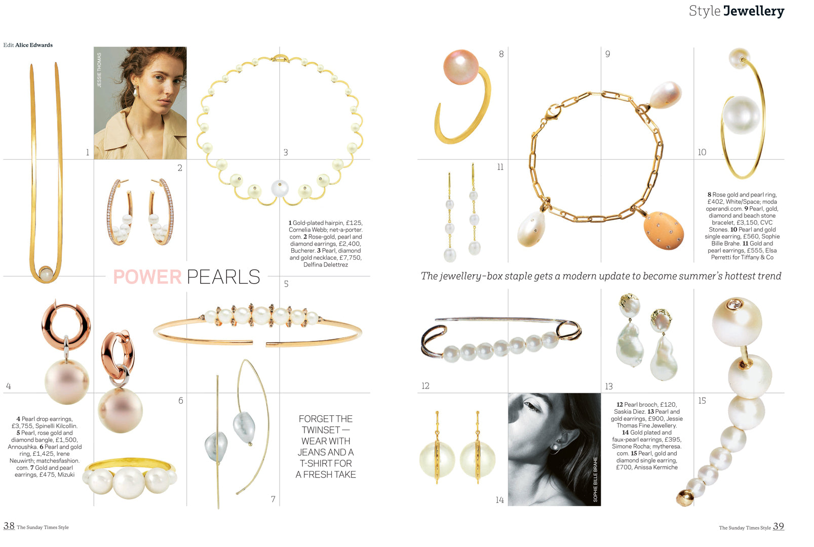 the sunday times spinelli kilcollin sirena peral drop earrings linked-rings luxury jewelry