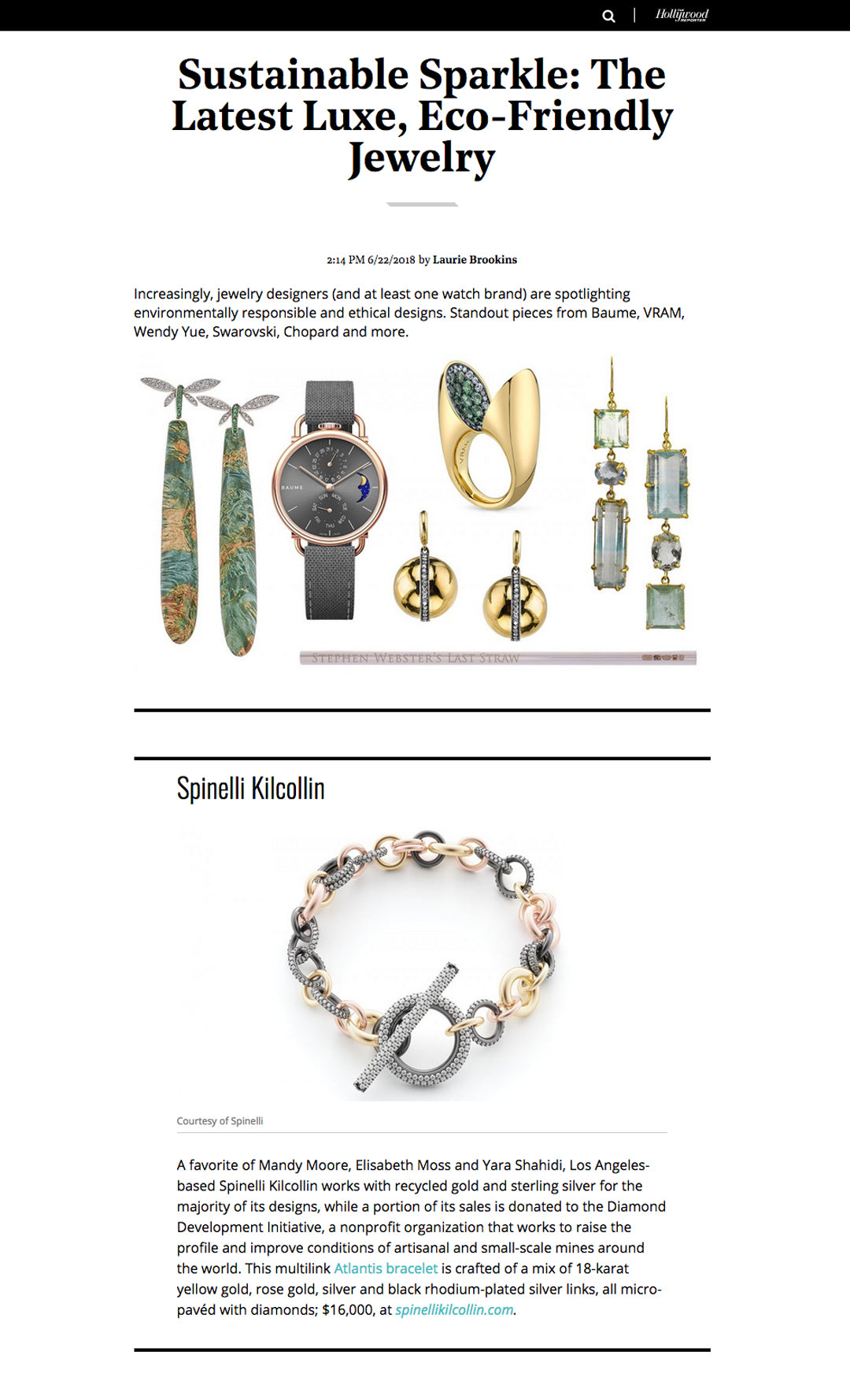 hollywood reporter spinelli kilcollin atlantis bracelet linked-rings luxury jewelry