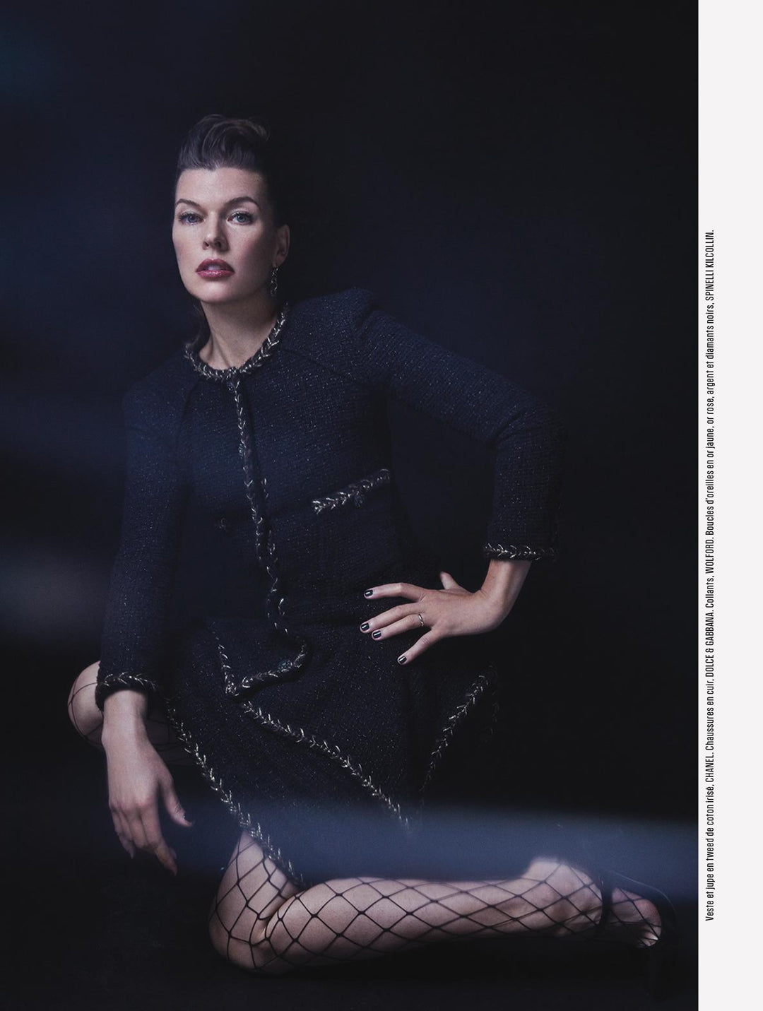 spinelli kilcollin milla jovovich l-express-styles luxury-jewelry linked-rings editorial
