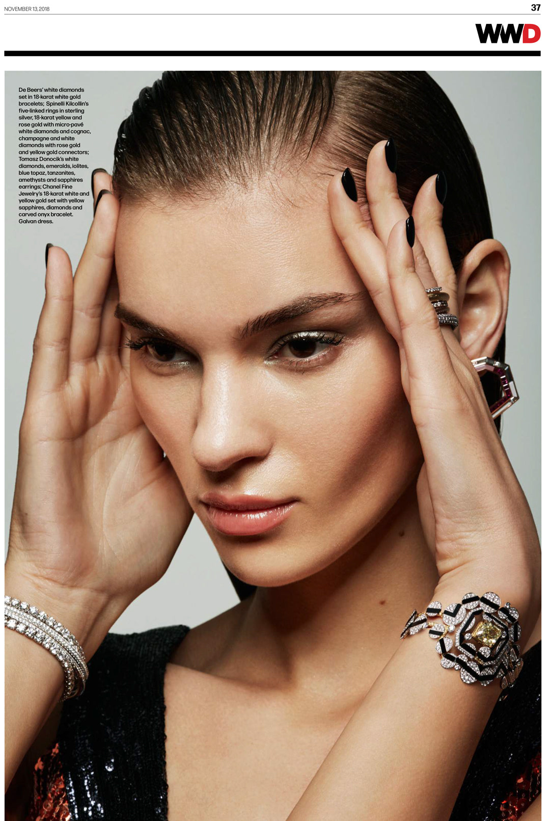 wwd spinelli kilcollin stellar collection rings linked-rings pave diamonds luxury-jewelry