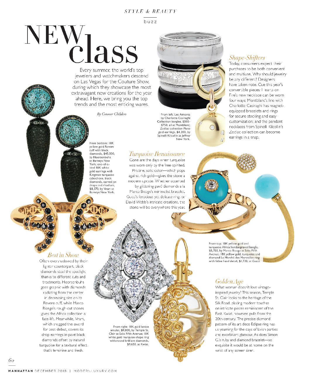 spinelli kilcollin manhattan magazine linked-rings luxury-jewelry zodiac collection pluto gold earrings