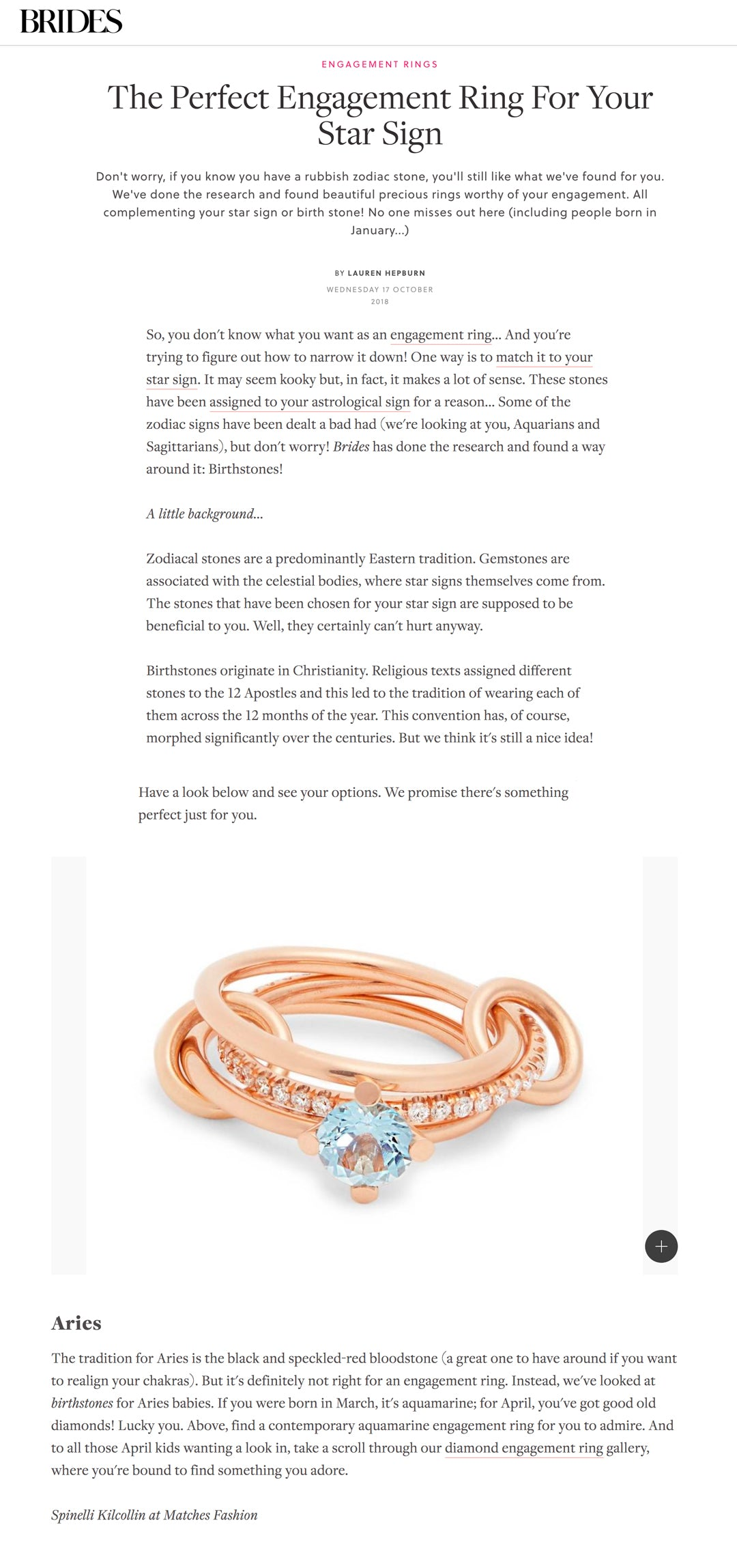 spinelli kilcollin brides magazine uk linked-rings luxury-jewelry aries
