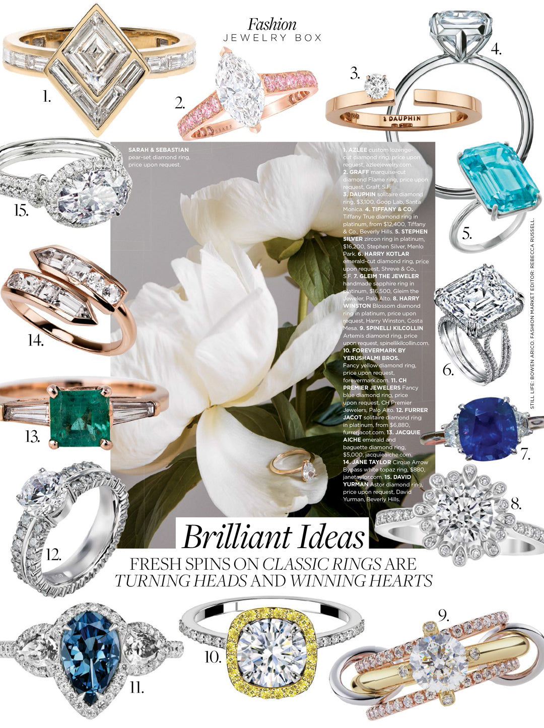 c weddings magazine spinelli kilcollin artemis ring linked-rings diamond-ring luxury-jewelry stacked-rings