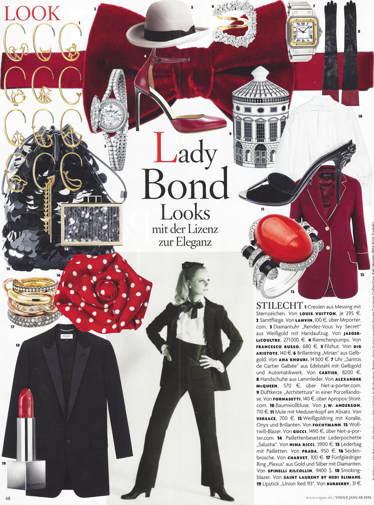Spinelli Kilcollin Bond Looks Plexus German Vogue