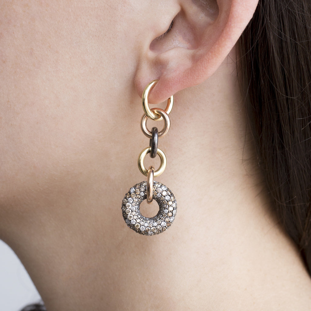 Alexa CCW Chain Earrings
