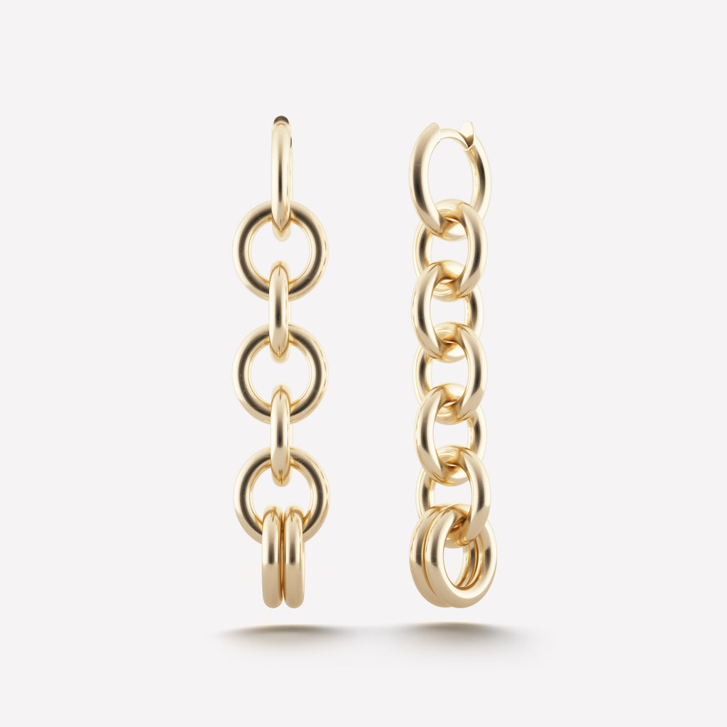 Columba Chain Earrings