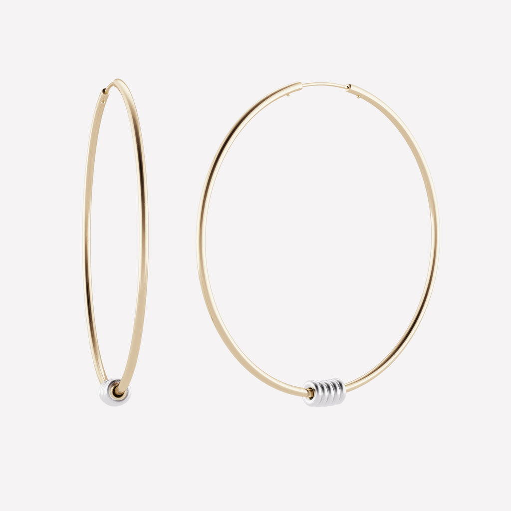 Leela Hoop Earrings