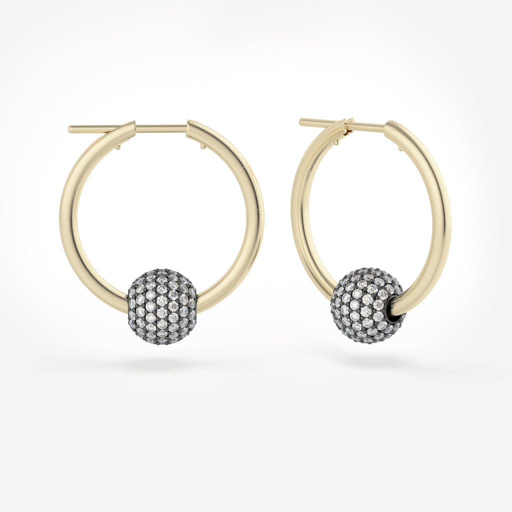 Zodiac | Argo Neptune SP Hoop Earrings