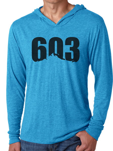 603 Mountain - Men's Long Sleeve Hoodie