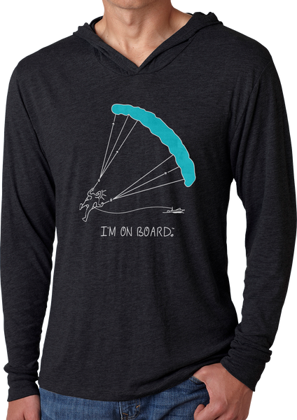 I'm on Board™ Parasailing - Men's Long Sleeve Hoodie