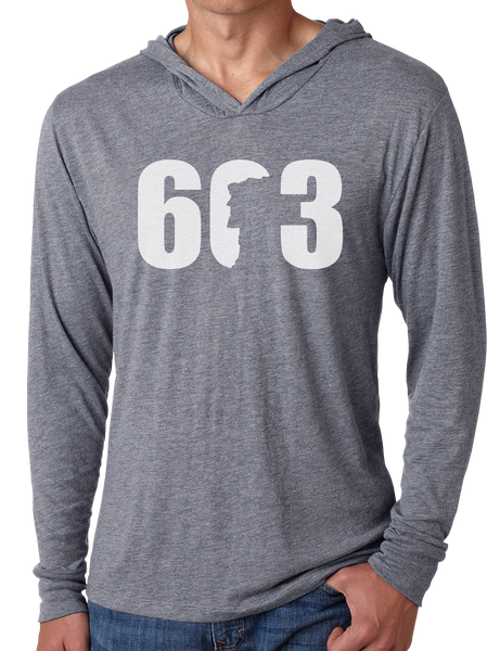 603 Old Man - Men's Long Sleeve Hoodie