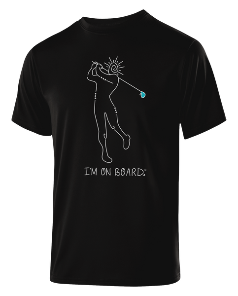 I'm on Board™ Golfer - Men's Athletic Tee