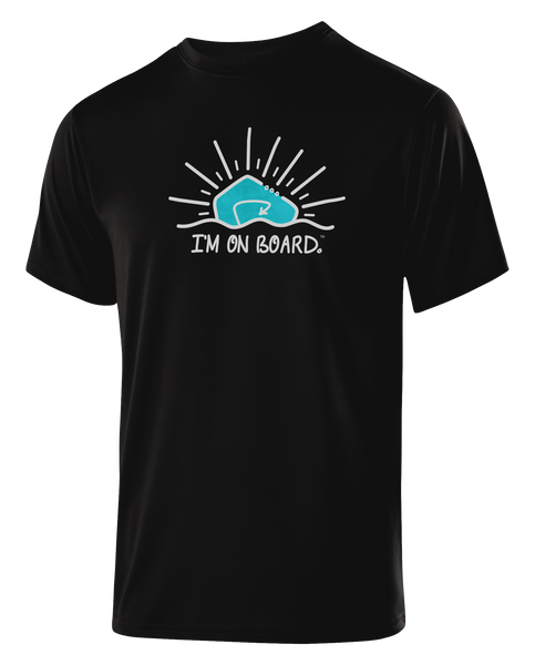 I'm on Board™ Logo - Men's Athletic Tee