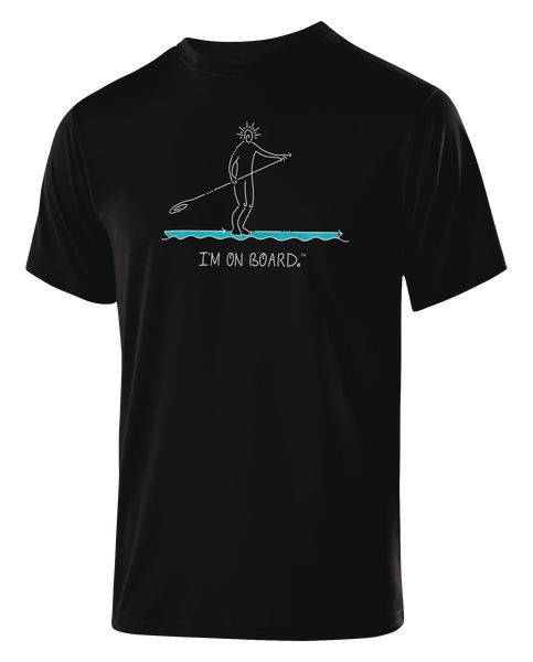I'm on Board™ Paddle Board - Men's Athletic Tee