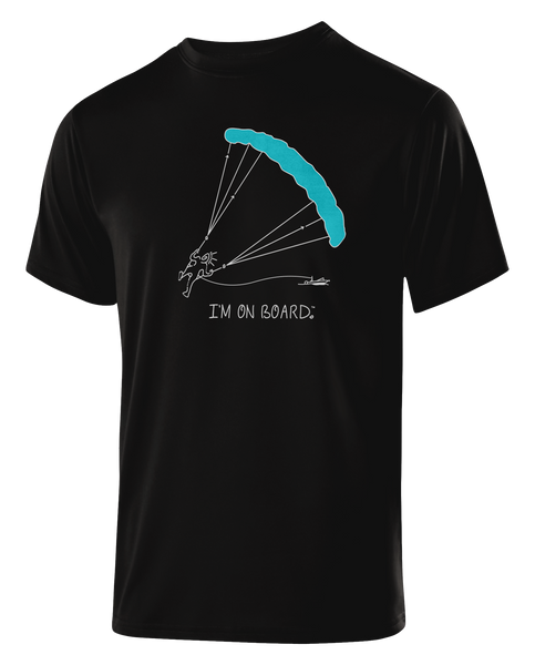 I'm on Board™ Parasailing - Men's Athletic Tee