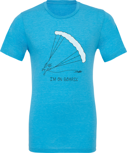 I'm on Board™ Parasailing - Unisex Triblend Tee