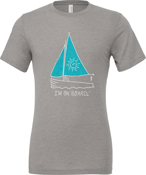 I'm on Board™ Sailing - Unisex Triblend Tee
