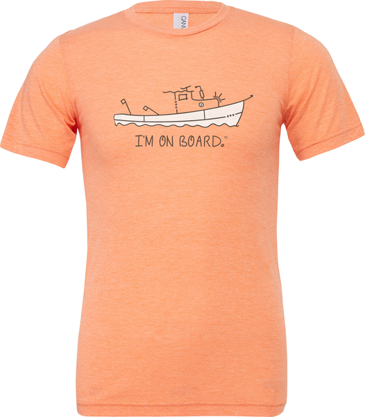 I'm on Board™ Lobster Boat - Unisex Triblend Tee