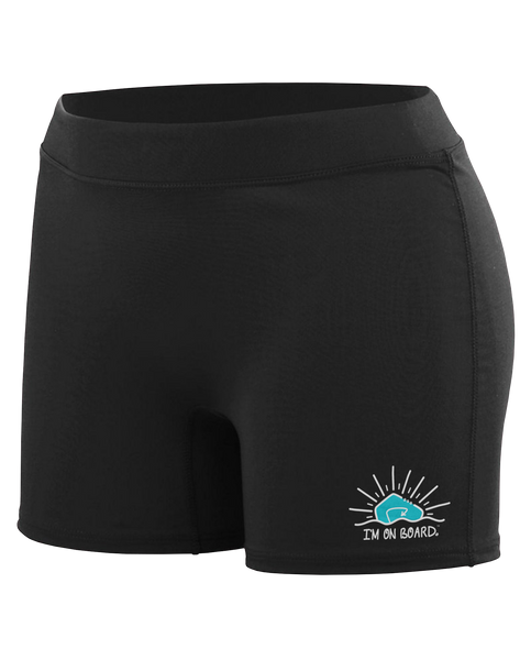 I'm on Board™ Logo - Women's Shorts