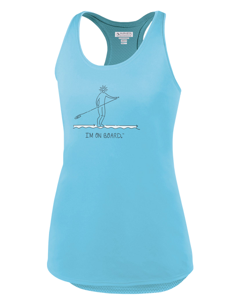 I'm on Board™ Paddle Board - Women's Tank