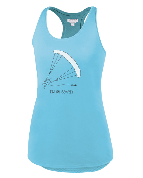 I'm on Board™ Parasailing - Women's Tank