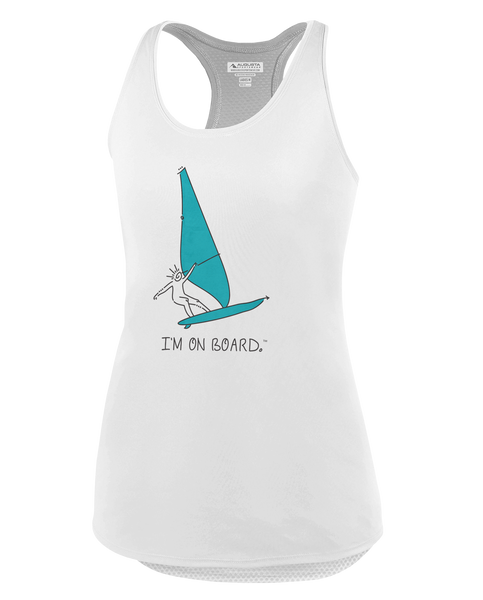 I'm on Board™ Wind Surfing - Women's Tank