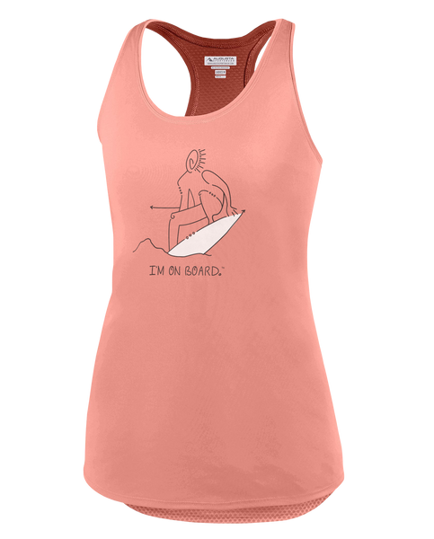 I'm on Board™ Surfboard - Women's Tank