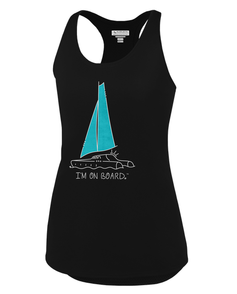 I'm on Board™ Catamaran - Women's Tank