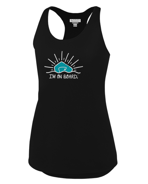 I'm on Board™ Logo - Women's Tank