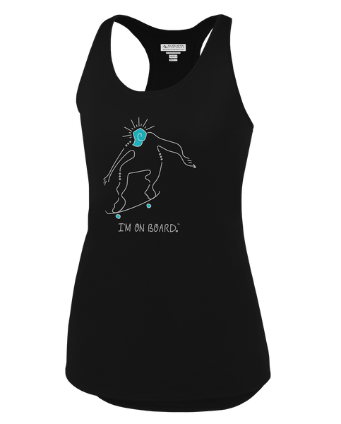 I'm on Board™ Skateboard - Women's Tank