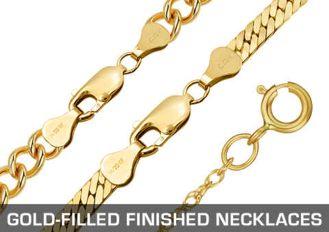 Gold-Filled Finished Necklaces