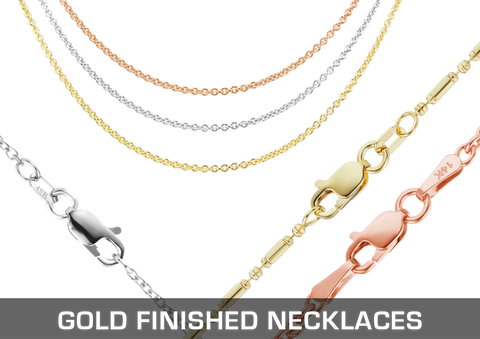 Gold Necklaces & Bracelets