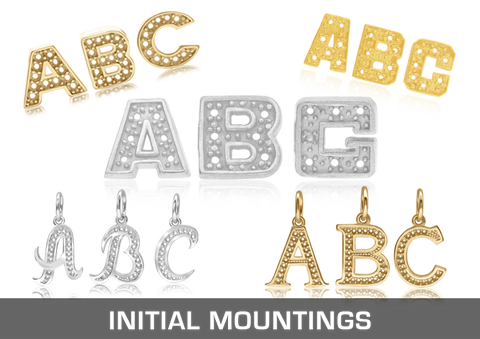 Initials Mountings