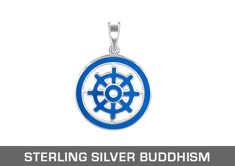 Sterling Silver Buddhism