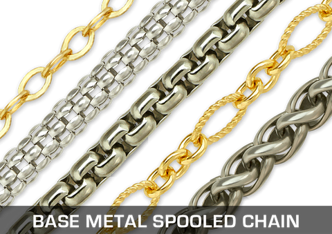 Base Metal Spooled Chain