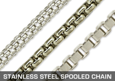 Stainless Steel Spooled Chain