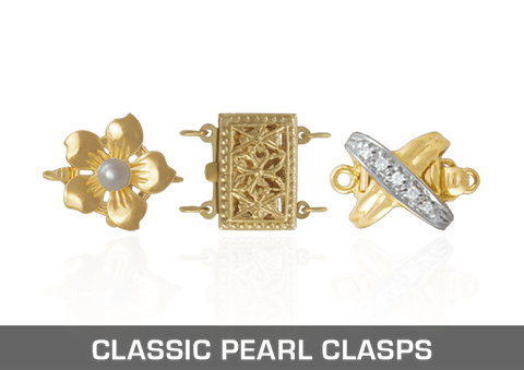 Classic Pearl Clasps